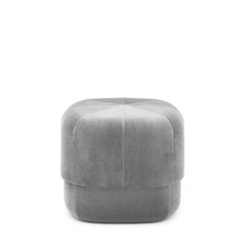 Circus Pouf Small , Velour