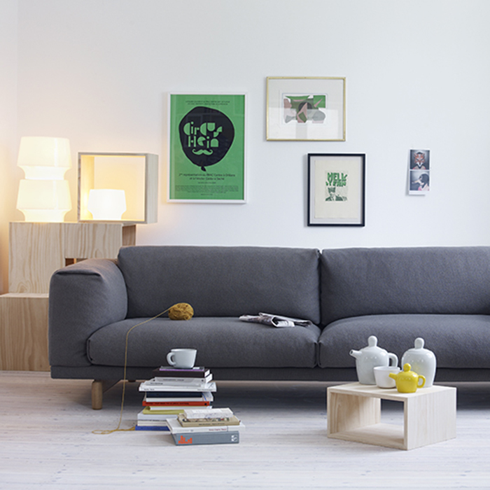 Rest Sofa 3-Seater 92*260*72 100232 colors
