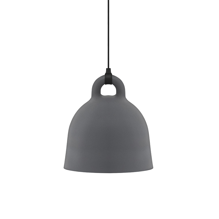 Bell Lamp , Large grey