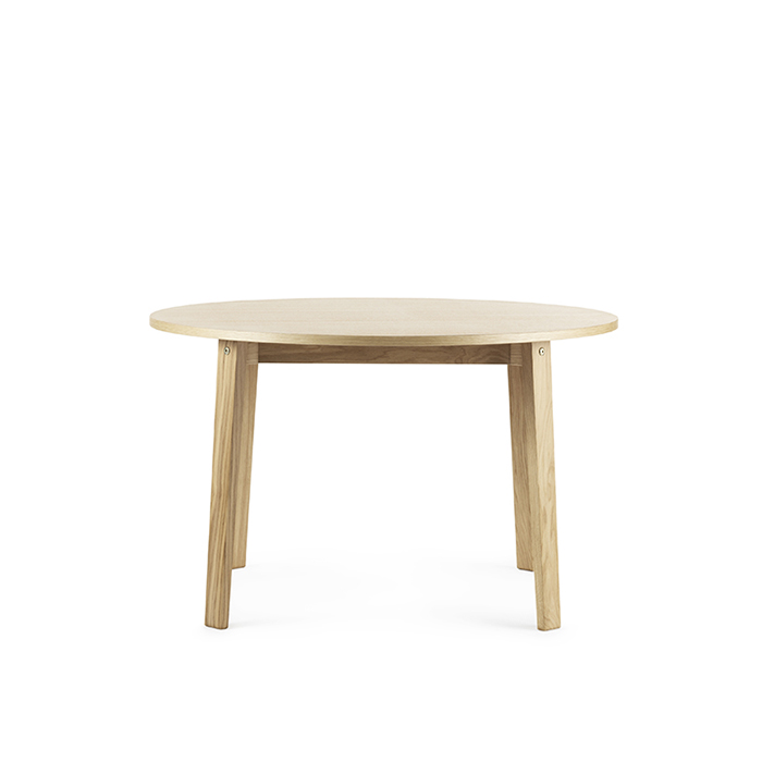 Slice Table Vol.2  Oak Ø120 cm