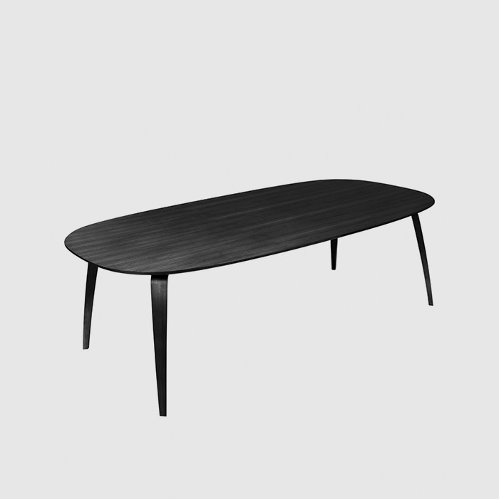 GUBI Dining Table Elliptical  Black 230 *12010월 말 입고 예정