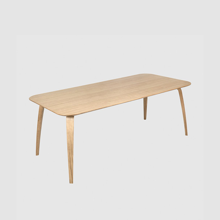 GUBI Dining Table Rect  Oak 180 * 85