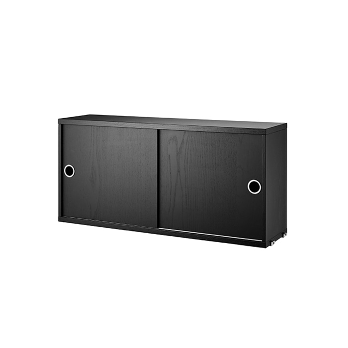 Cabinet 78*20  Black Stained Ash CD7820-03-1