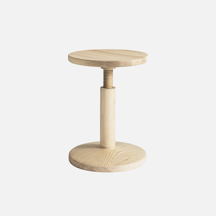 All wood stool, Bobbin Ash  11월 중순 입고 예정