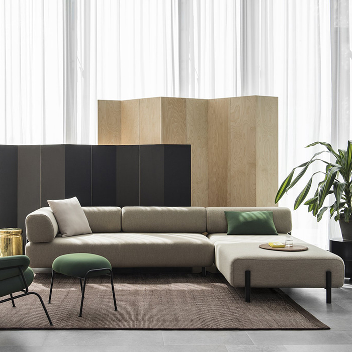 Palo Corner Sofa (Right)  Beige(20026)  11월 중순 입고 예정