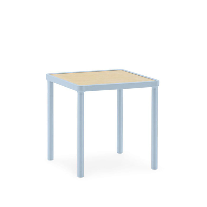 *Case Coffee Table, Small Light Blue